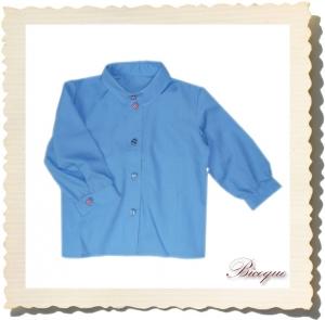 Koszula classique retro bleu