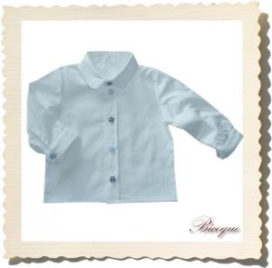 Koszula classique retro blanc (62 i  68/74)