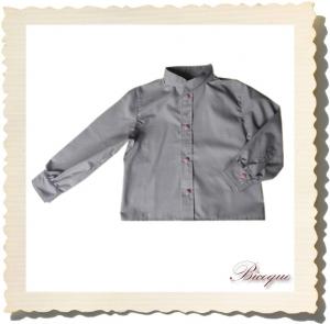 Koszulka bouton à damier