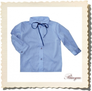 Koszulka classique petite blue