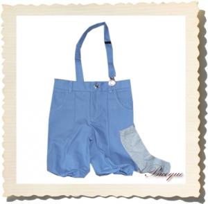 Spodenki loupiot bleu + podkolanówki