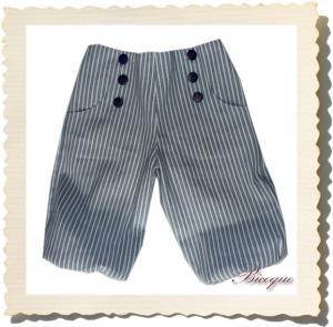 Spodnie timbalier en bleu