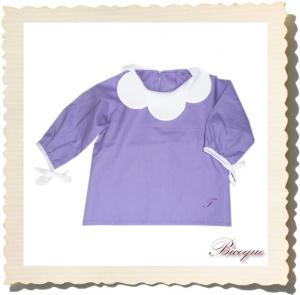 Bluzeczka fleur violet